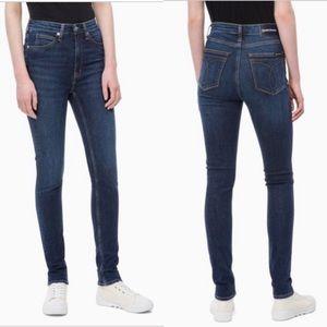 Calvin Klein High Rise Skinny Jeans